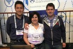 Wharton EMBA Students at Tech Crunch Disrupt Conference