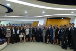 Second-year Wharton | San Francisco EMBA students visit Tencent during their class trip to China.