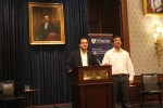 EMBA student Amit Sood at the Wharton BizTech Industry Conference