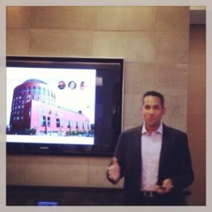 Greg Coleman, WG'09, President, COO & Co-founder of Nexercise
