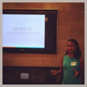 "Olubunmi ""Boomie"" Odumade, WG'09, VP of Engineering & Co-founder of Nexercise"