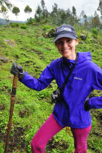 Kristal Dehnad: Rwanda Volcanoes National Park on a Gorilla trek with Wharton classmates