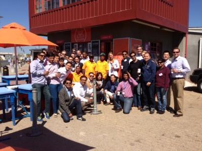 Wharton EMBA students at Khayelitsha Coffee.