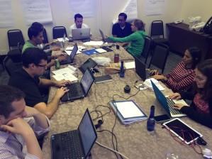 GCP team members in Brazil
