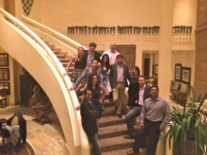 Salima Remtulla and East and West EMBA students in South Africa.