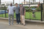 Aris, Ben, and Greg at the University of Buea