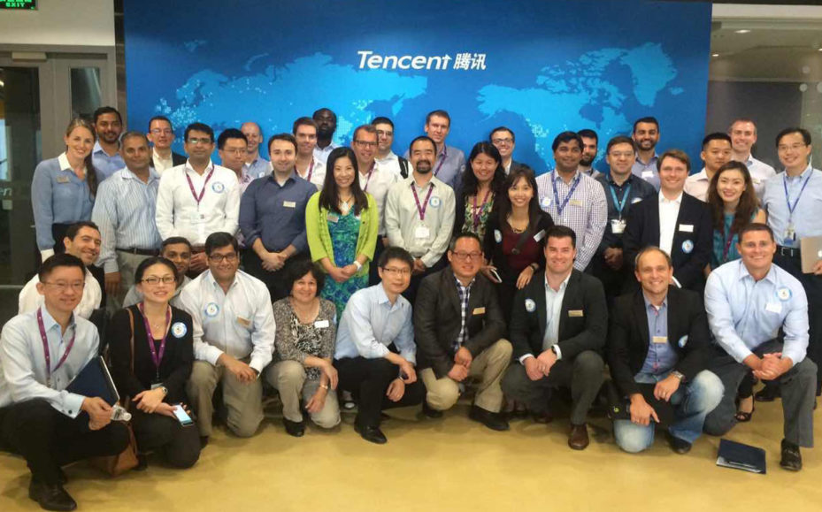 EMBA Visit to Tencent